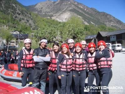 Rafting Noguera Pallaresa - Parque Nacional de Aigüestortes y Lago San Mauricio; trekking material